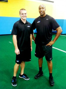 Wyle Maddox and Quintrel Lenore, Sports Performance Coordinators
