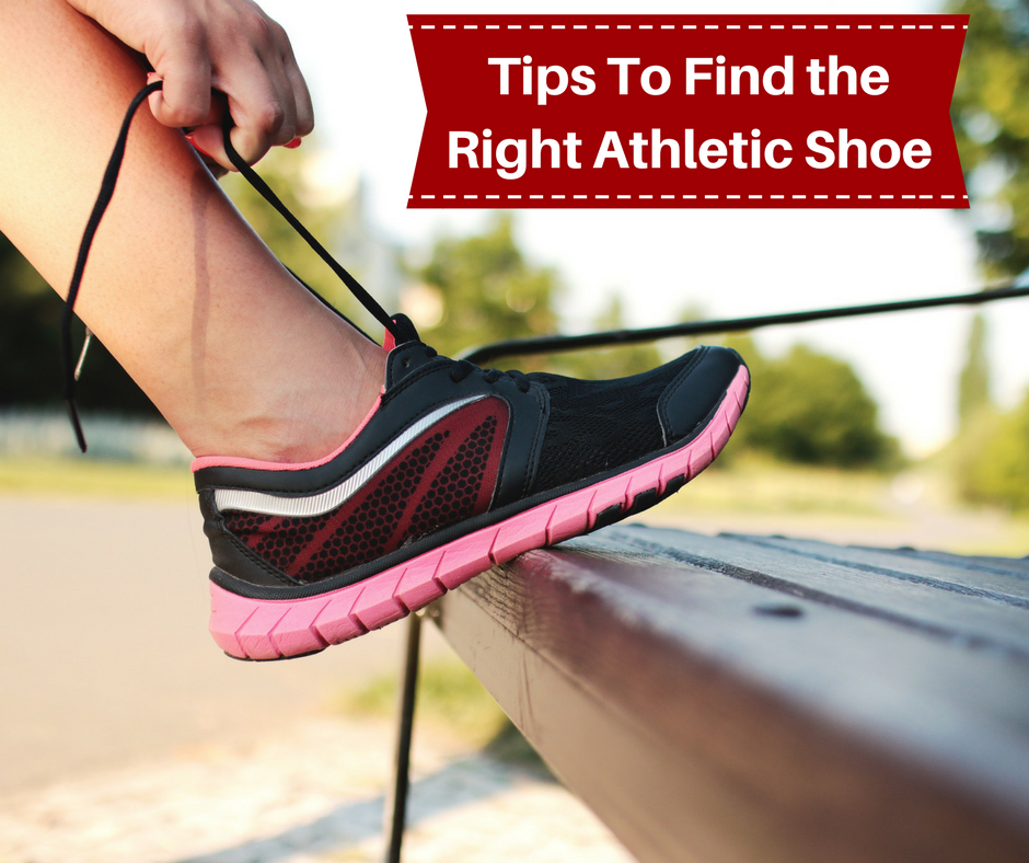 The right Athletic Shoe